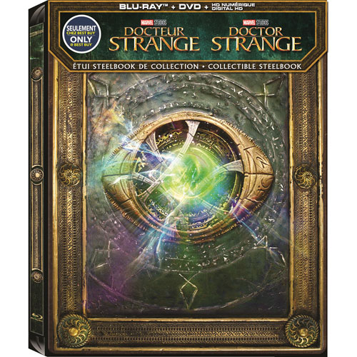 Doctor Strange (French) (SteelBook) (Only at Best Buy) (Blu-ray Combo) (2016)