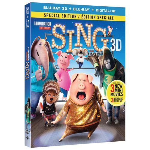 Sing (3D Blu-ray) (2016)