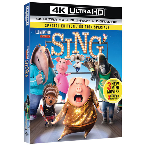 Sing (4K Ultra HD) (Blu-ray) (2016)