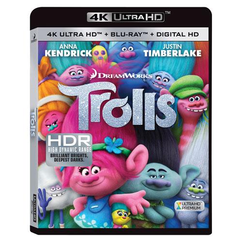 Trolls (Bilingual) (4K Ultra HD) (Blu-ray Combo) (2016)
