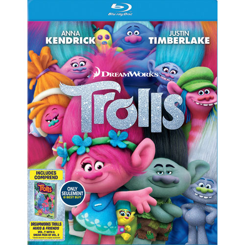 Trolls (Bilingual) (With Trolls Comic) (Only at Best Buy) (Blu-ray Combo)