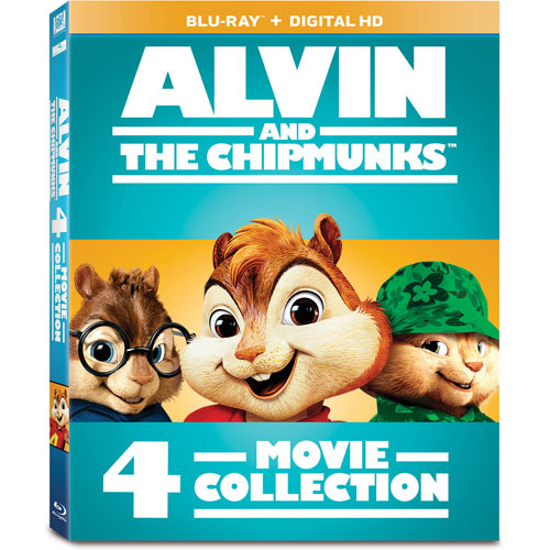 Alvin and the Chipmunks 4-Movie Collection (bilingue) (Blu-ray)