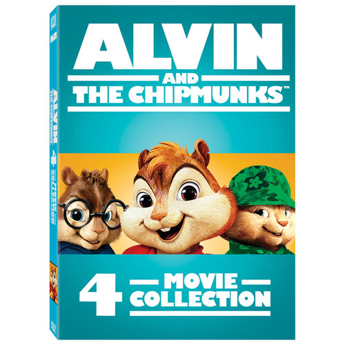 Alvin and the Chipmunks 4-Movie Collection (bilingue)