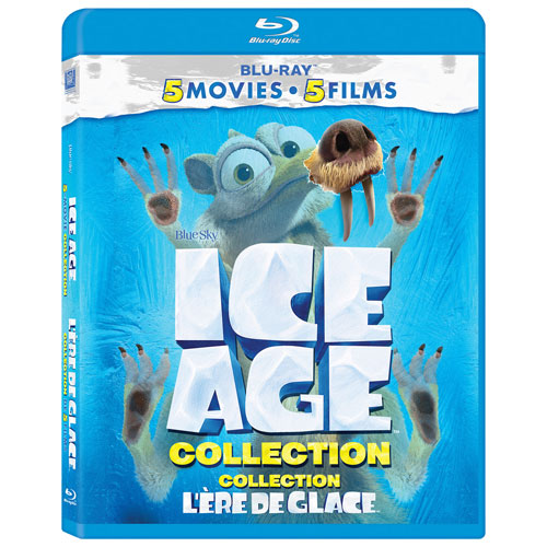 Ice Age Collection (bilingue) (Blu-ray)