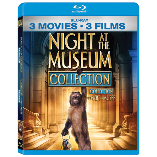 Night at the Museum Collection (Bilingual) (Blu-ray)