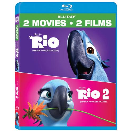 Rio/ Rio 2 (bilingue) (Blu-ray)