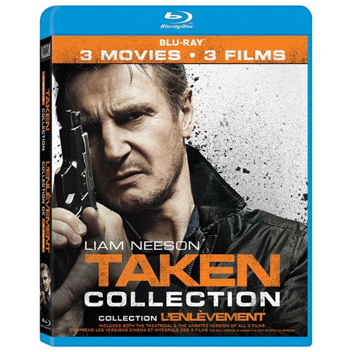 Taken Collection (bilingue) (Blu-ray)