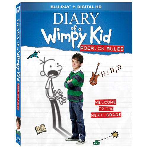 Diary of a Wimpy Kid: Rodrick Rules (Bilingual) (Blu-ray)