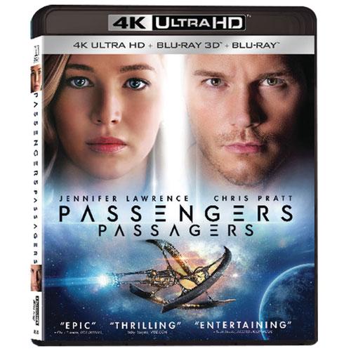 Passengers (bilingue) (Ultra HD 4K) (combo Blu-ray) (2016)