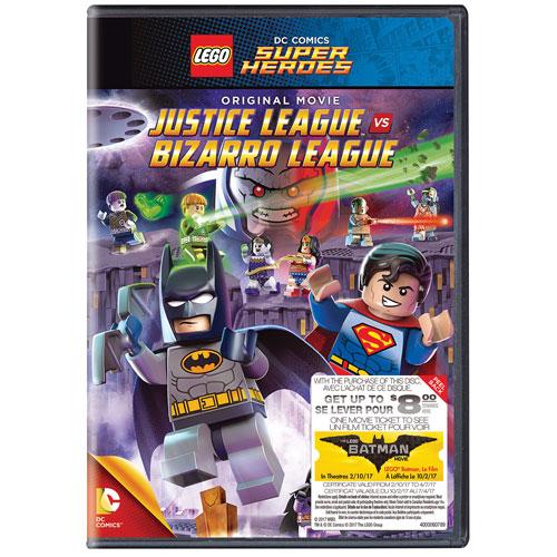 LEGO: DC Comics Super Heroes: Justice League vs. Bizarro League (Bilingual)