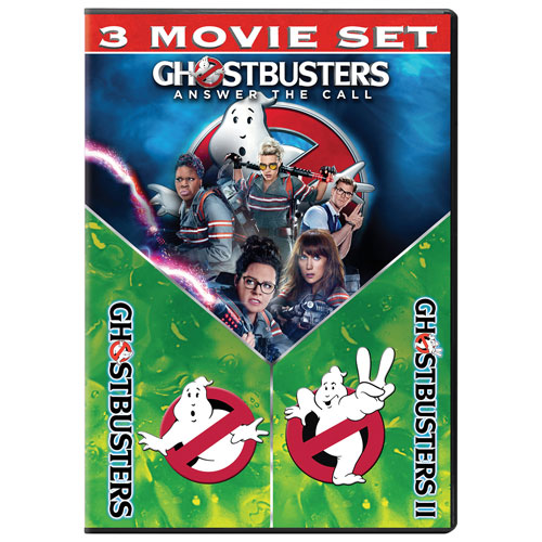 Ghostbusters: 3 Movie Collection (English)