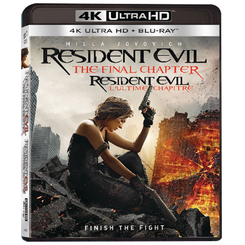 Resident evil the final chapter 4k ultra hd blu ray combo action movies blu ray best - Resident evil final chapter 4k ...