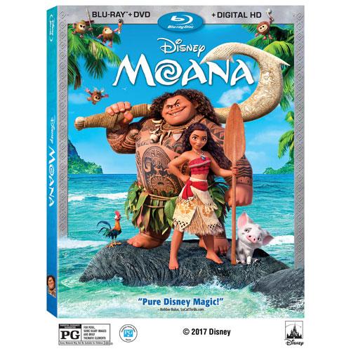 Moana (anglaise) (combo Blu-ray) (2016)