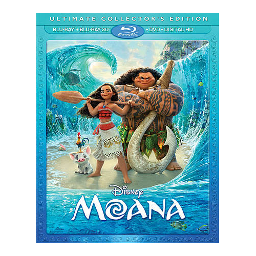 Moana (English) (Ultimate Collector's Edition) (3D Blu-ray Combo) (2016)
