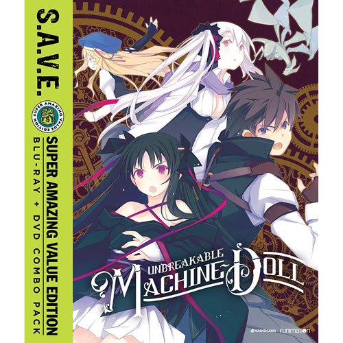 Unbreakable Machine Doll: The Complete Series (Blu-ray Combo)