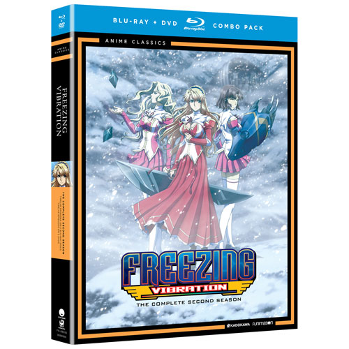 Freezing Vibration: Season 2 (Blu-ray Combo)
