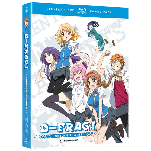 D-Frag! The Complete Series (Blu-ray Combo)