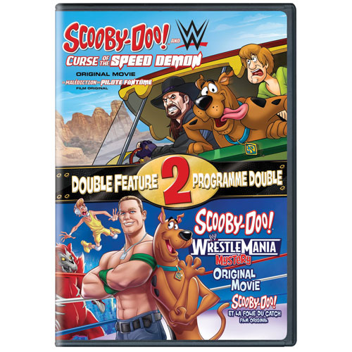 Scooby and WWE: Curse of the Speed Demon/ Scooby and WWE Wrestlemania Mystery (bilingue)