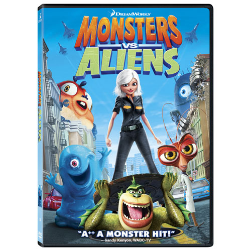Monsters vs Aliens (Bilingual) (Icon) (With Movie Money) (2009)