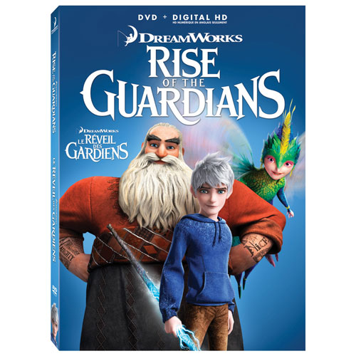 Rise of the Guardians (Bilingual) (Icon) (With Movie Money) (2012)