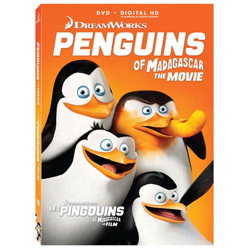 Penguins of Madagascar (bilingue) (Icon) (avec Movie Money) (2014)