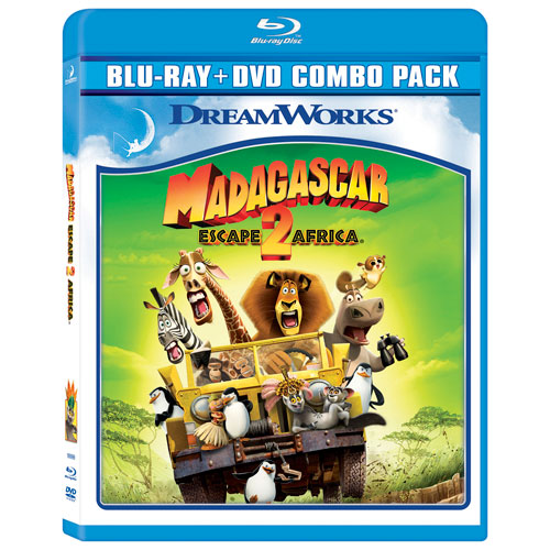 Madagascar: Escape 2 Africa (Bilingual) (With Movie Money) (Blu-ray Combo) (2008)