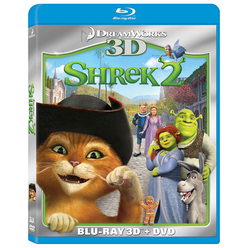 Shrek 2 (Bilingual) (With Movie Money) (Blu-ray Combo) (2004)