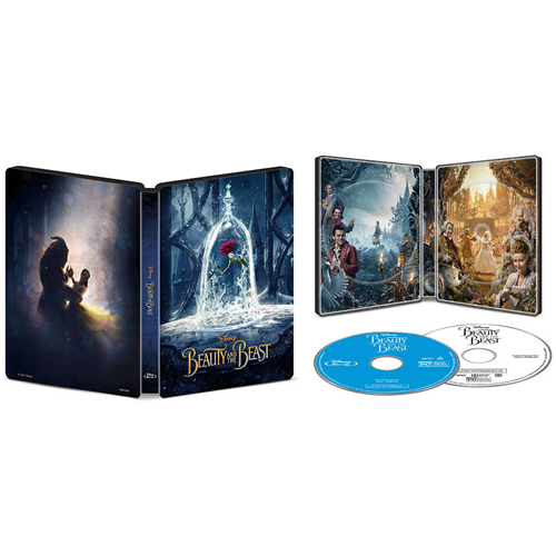 Beauty and the Beast (English) (SteelBook) (Only at Best Buy) (Blu-ray Combo) (2017)