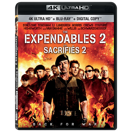 The Expendables 2 (4K Ultra HD) (Blu-ray Combo) : Action ...
