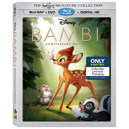 I think Bambi is one of the first Disney movies I saw as