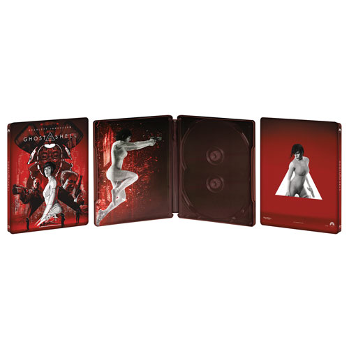 Ghost in the Shell (SteelBook) (Only at Best Buy) (4K Ultra HD) (Blu-ray Combo) (2017)