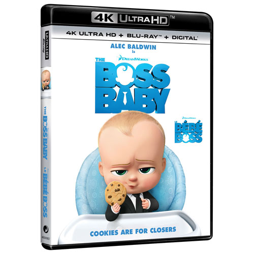 430761f5cd2bb Boss Baby (4K Ultra HD) (Blu-ray Combo) (2017)