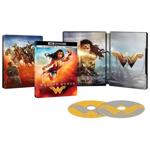 Wonder Woman (SteelBook) (Only at Best Buy) (4K Ultra HD) (Blu-ray Combo) (2017)