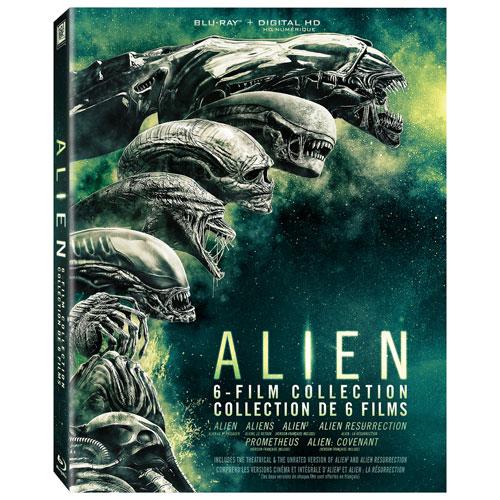 Alien Movie: Alien: 6-Film Collection (Blu-ray) : Sci-Fi/Fantasy