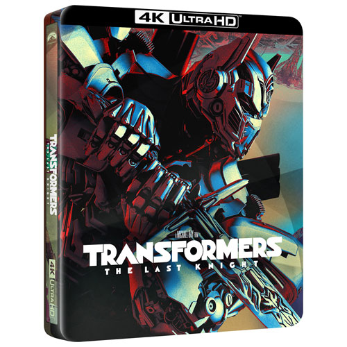 Transformers The Last Knight (SteelBook) (Only at Best Buy) (4K Ultra HD) (Blu-ray Combo) (2017)
