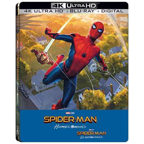 Spider-Man: Homecoming (SteelBook) (Only at Best Buy) (4K Ultra HD) (Blu-ray Combo) (2017)