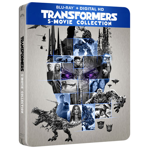 Transformers: 5 Movie Collection (SteelBook) (Only at Best Buy) (Blu-ray) (2007-2017)