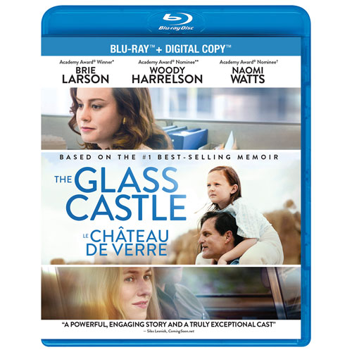 the glass castle blu ray 2017 drama f i best buy. Black Bedroom Furniture Sets. Home Design Ideas