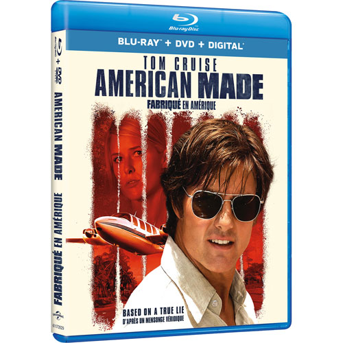 American Made (Blu-ray Combo) (2017) : Action Movies Blu