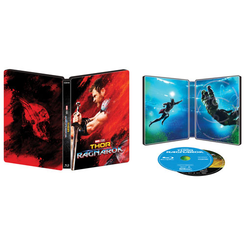 THOR: Ragnarok (English) (SteelBook) (Only at Best Buy) (4K Ultra HD) (Blu-ray Combo) (2017)