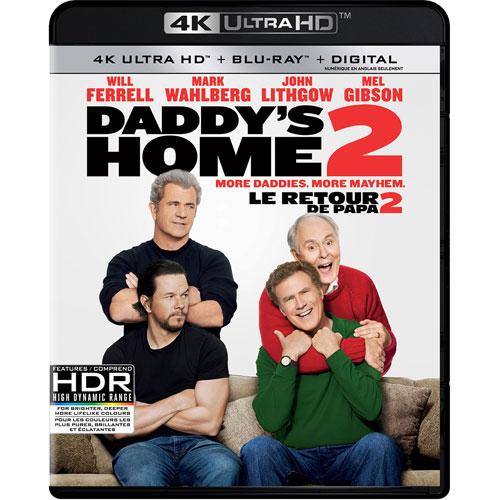 Daddy S Home 2 4k Ultra Hd Blu Ray Combo 2017 Best Buy Canada