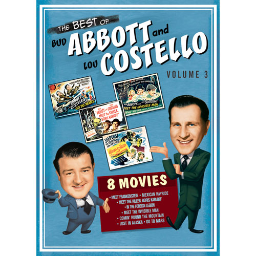 The Best Of Bud Abbott And Lou Costello Volume 3 English Comedy