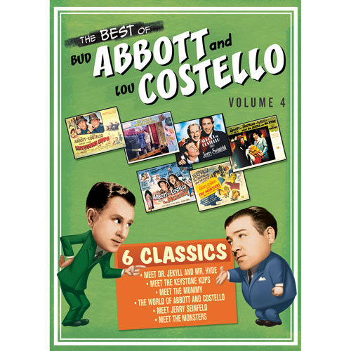 The Best Of Bud Abbott And Lou Costello Volume 4 English Comedy