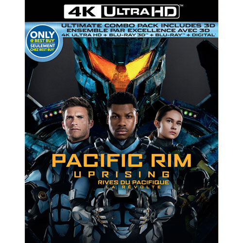 Pacific Rim Uprising Only at Best Buy 4K Ultra HD 3D