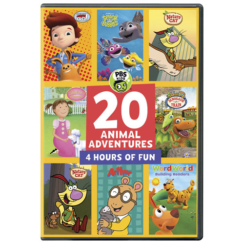 PBS Kids: 20 Animal Adventures (English)