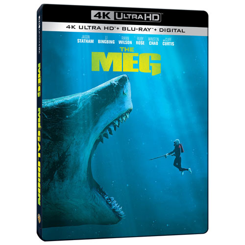 The Meg (Bilingual) (SteelBook) (4K Ultra HD) (Blu-ray Combo)
