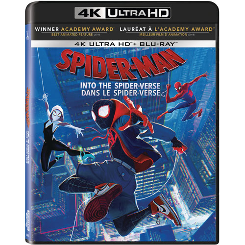Spider-Man: Into The Spider-Verse (4K Ultra HD) (Blu-ray Combo) : Action Movies Blu-ray - Best Buy Canada Spider-Man: Into The Spider-Verse (4K Ultra HD) (Blu-ray Combo) - 웹