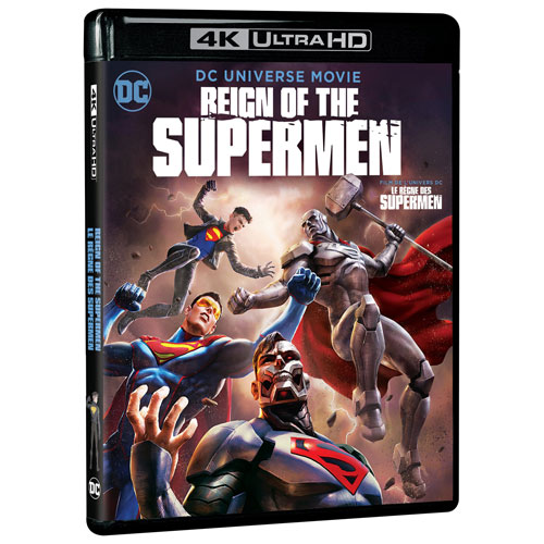 Reign of the Supermen (DC Universe) (4K Ultra HD) (Blu-ray Combo)