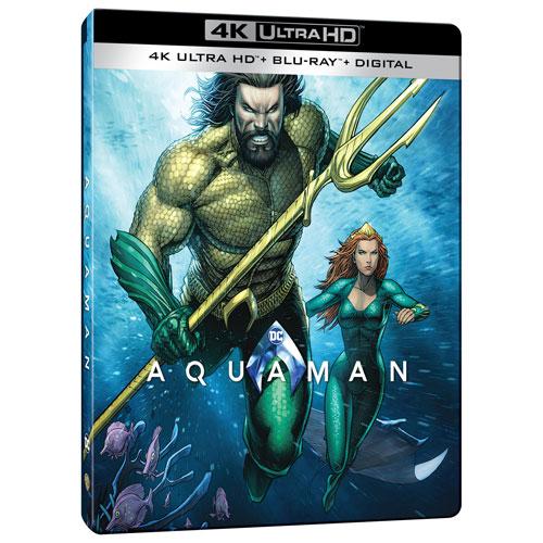 aquaman steelbook  Aquaman (SteelBook) (Only at Best Buy) (4K Ultra HD) (Blu-ray Combo ...