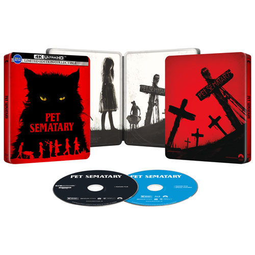 Pet Sematary (Limited Edition) (SteelBook) (Only at Best Buy) (4K Ultra HD) (2019) : Horror Movies Blu-ray - Best Buy Canada Pet Sematary (Limited Edition) (SteelBook) (Only at Best Buy) (4K Ultra HD) (2019) - 웹